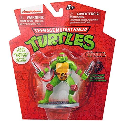 Teenage Mutant Ninja Turtles Clip and Go Raphael Figurine