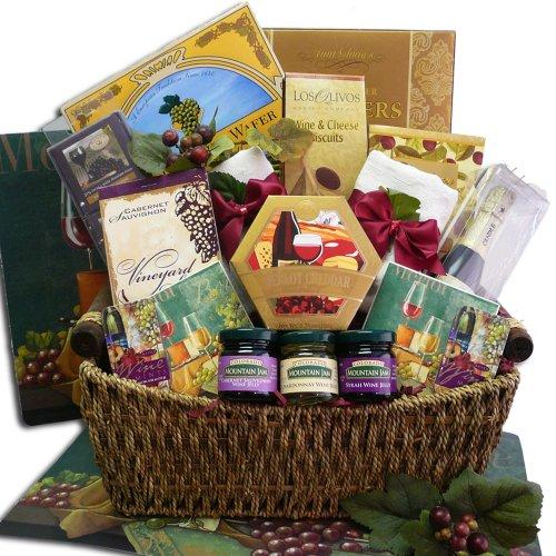 Wine Lovers Gourmet Food Gift Basket