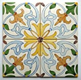 CERAMIC WALL FIELD TILES hand-painted - Cascais