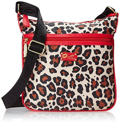 Luv Betsey By Betsey Johnson Printed Cross Body Bag, Leopard, One Size