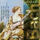Bach: Trio Sonatas for Flute & Violin