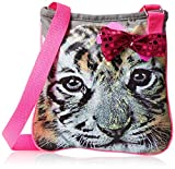 Accessories 22 Girls' Sweet Tiger Photo Real Crossbody Bag