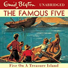 Famous Five: 1: Five On A Treasure Island (       UNABRIDGED) by Enid Blyton Narrated by Jan Francis