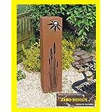 Rost Säule RS61 XL kostenloser Versand Rostsäulen Säulen Deko Garten Blumensäule rostsäule rostig