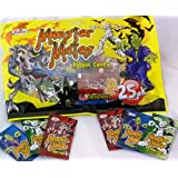 Monster Mates Popping Candy Bag x 25 Sachets (3 flavours), Halloween Trick or Treat Sweet Supplies Party Bags