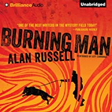 Burning Man (       UNABRIDGED) by Alan Russell Narrated by Jeff Cummings