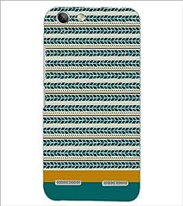 PrintDhaba Tribal pattern D-1871 Back Case Cover for LENOVO LEMON 3 (Multi-Coloured)