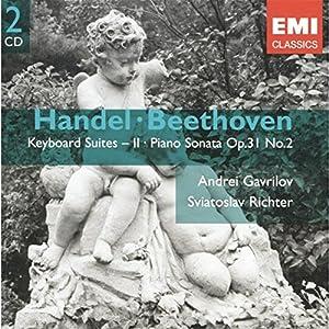 Handel : Suites pour piano, Vol. 2 - Beethoven : Sonate pour piano Op. 31 n° 2