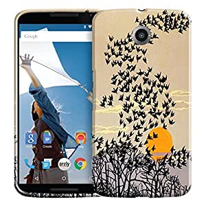 Theskinmantra Pattern 450 back cover for Motorola Google Nexus 6