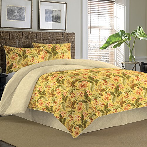 Tommy Bahama Key Largo Place Coral Comforter Set, Queen front-1052270
