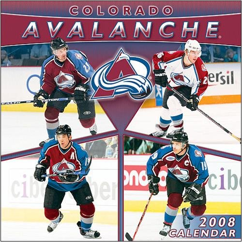 NHL Colorado Avalanche Wall - 2008 Calendar - Buy NHL Colorado Avalanche Wall - 2008 Calendar - Purchase NHL Colorado Avalanche Wall - 2008 Calendar (Calendars, Office Products, Categories, Office & School Supplies, Calendars Planners & Personal Organizers, Wall Calendars)