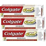 Colgate - Total Original Dentifrice - 75 ml - Lot de 3