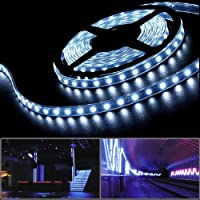Flexible 16FT 5m Cool White 5050 SMD 300 LED Strip Light For Fountain Patio Garden Pavilion Trim from SMD Strip Rope Light