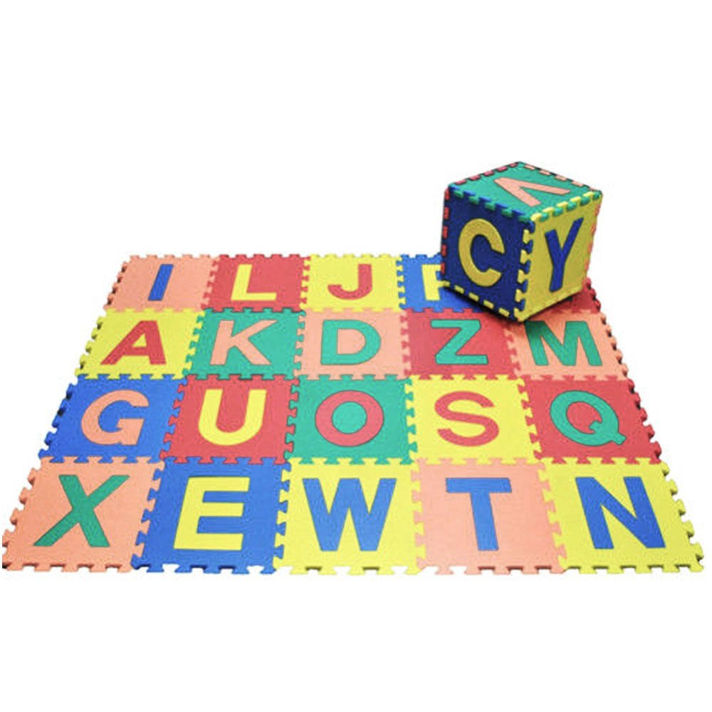Large Soft Foam Playmat Alphabet Puzzle Play Mat Jigsaw