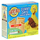 Earth's Best Organic Sunny Days Snack Bars, Apple, 5.3-Ounce Boxes (Pack of 6)