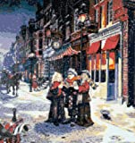 Carol Singing Christmas Cross Stitch Kit