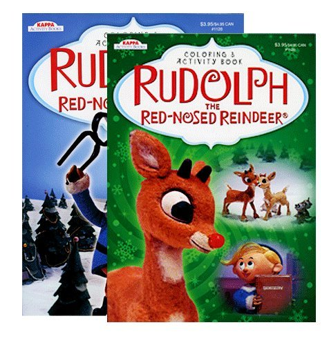 Rudolph the Red-Nosed Reindeer Coloring & Activity Book - 1