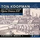 Opera Omnia 12: Chamber Music 1