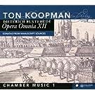 Buxthude : Opera Omnia XII - Musique de chambre 1. Koopman.