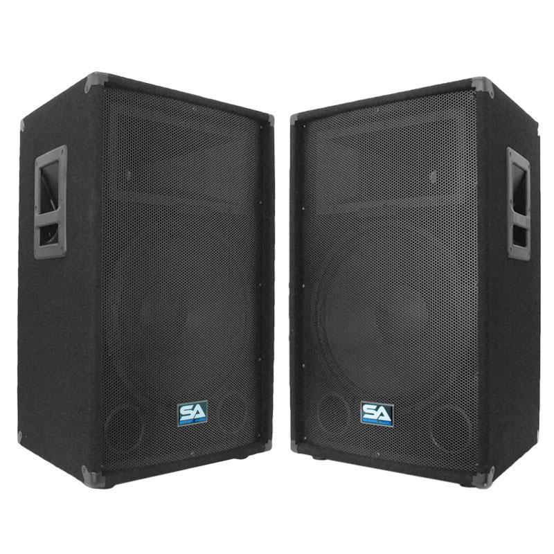 Amazon Com Seismic Audio Pair Of 15 Quot Pa Dj Speakers 700