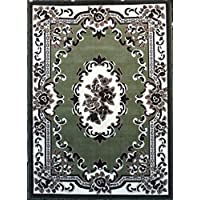 Traditional Area Rug Design American 102 Green