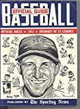 img - for Official Baseball Guide 1952 book / textbook / text book
