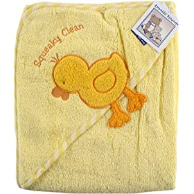 Luvable Friends Super-soft Hooded Bath Wrap