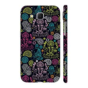 Enthopia Designer Hardshell Case God meets God Back Cover for Samsung Galaxy Core Prime