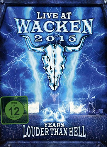 Live at Wacken 2015 26 Years Louder Than Hell (2dvd+2cd)