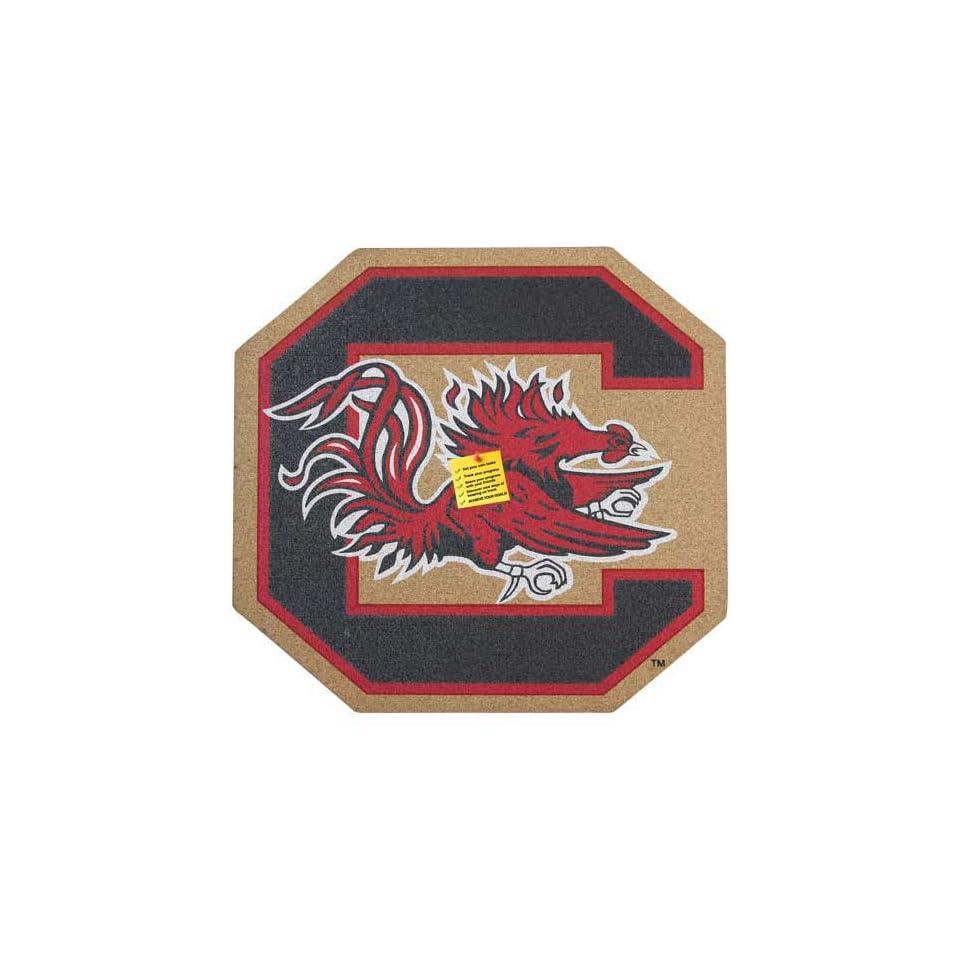 NCAA South Carolina Gamecocks Team Logo Cork Board