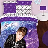 3pc Justin Bieber Concert Twin-Single Bedding Sheet Set