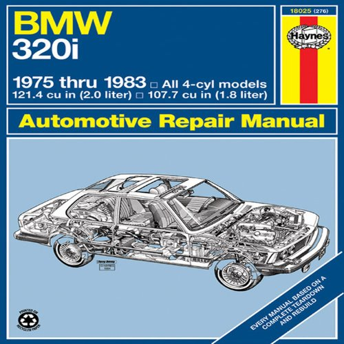 Bmw 320I Manual: 1975-1983: '75-'83 (Automotive Repair Manual) front-575501