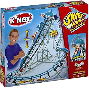 K'Nex Shark Run Roller Coaster - Motorized Building System