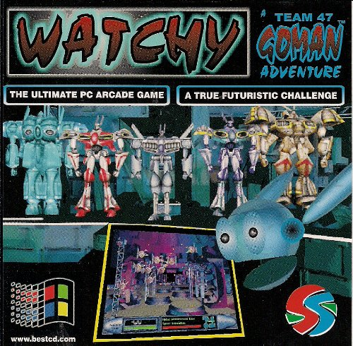Watchy A Team 47 GOMAN Adventure (Import from Canada)