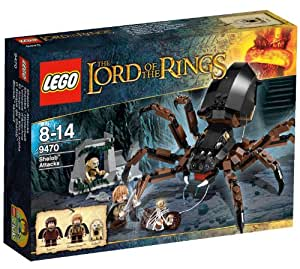 Lego The Lord Of The Ring - 9470 - Jeu de Construction - l'Attaque d'Arachne