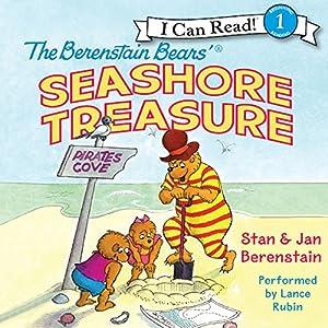 The Berenstain Bears' Seashore Treasure Audiobook by Jan Berenstain Narrated by Lance Rubin