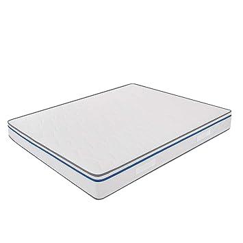MiaSuite Materasso matrimoniale memoryfoam misura 180x200 altezza 22 cm ortopedico rivestimento in cotton modello easy