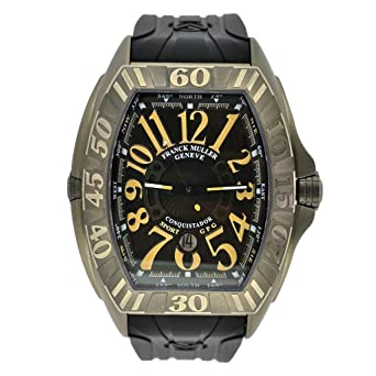 Franck Muller Men's 9900 SC DT GPG Conquistador Grand Prix Watch