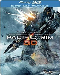 Pacific Rim - Limited Edition Steelbook [Blu-ray 3D + Blu-ray] [2013] [Region Free]