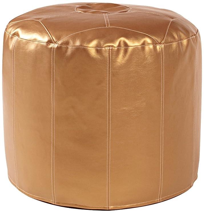 Howard Elliott 871–193pouf, Tessuto, Shimmer Gold, Alto
