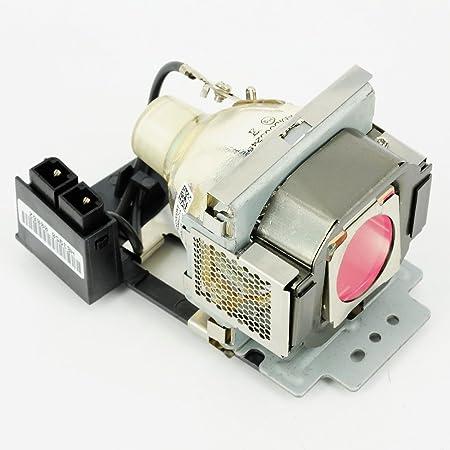 haiwo 5J.J2A01.001Projecteur de haute qualité compatible Ampoule de rechange avec boîtier pour projecteur BenQ SP831.