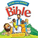 The Read and Share Bible: Over 200 Best Loved Bible Stories Audiobook by Gwen Ellis Narrated by Douglas Fiacre