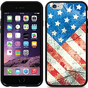 Coveroo Switchback Cell Phone Case for iPhone 6 - Retail Packaging - USA Vintage Flag