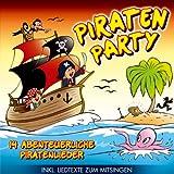 Piraten Party; 14 abenteuerliche Piratenlieder; incl. Liedtexte zum Mitsingen; Weil wir wilde Seeräuber sind; Piratenleben; Seeräubers Nachtlied; 10 freche Piraten; Piratenopa Joe; Der Schrecken aller Meere; Auf zum Piratenfest; Kinderparty;