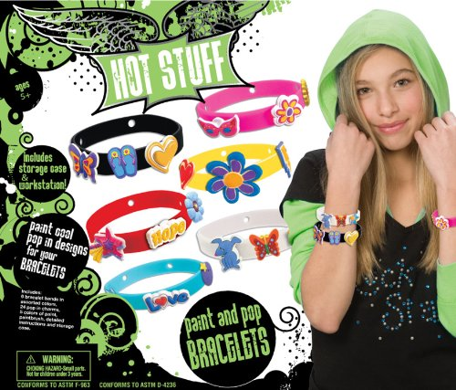 Hot Stuff Paint and Pop Bracelets