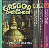 The Underland Chronicles Set, Books 1-4: Gregor the Overlander, Gregor and the Prophecy of Bane, Gregor and the Curse of the Warmbloods, and Gregor and the Marks of Secret (0545067480) by Suzanne Collins