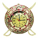 Frabjous Traditional Brass antique handmade design Wall Watch with 2 Swords