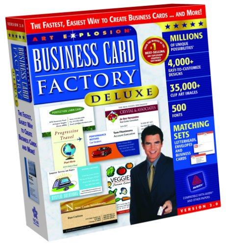 Business Card Factory Deluxe 2 0B00008K2Y7 : image