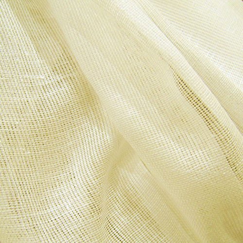 Antique Ivory Tobacco Cloth Cotton Fabric - Lightweight For Wedding Décor By The Yard