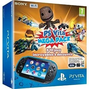Console Playstation Vita Wifi + Jeux à télécharger Kids Pack ( 10 Jeux) + Carte Mémoire 8 Go